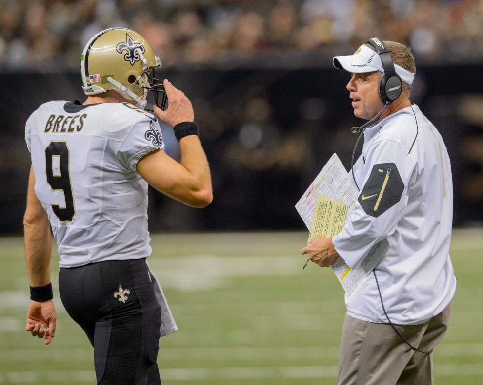 Report: Saints coach Sean Payton might be interested in coaching Chargers; Drew Brees will need hometown discount to stay _lowres