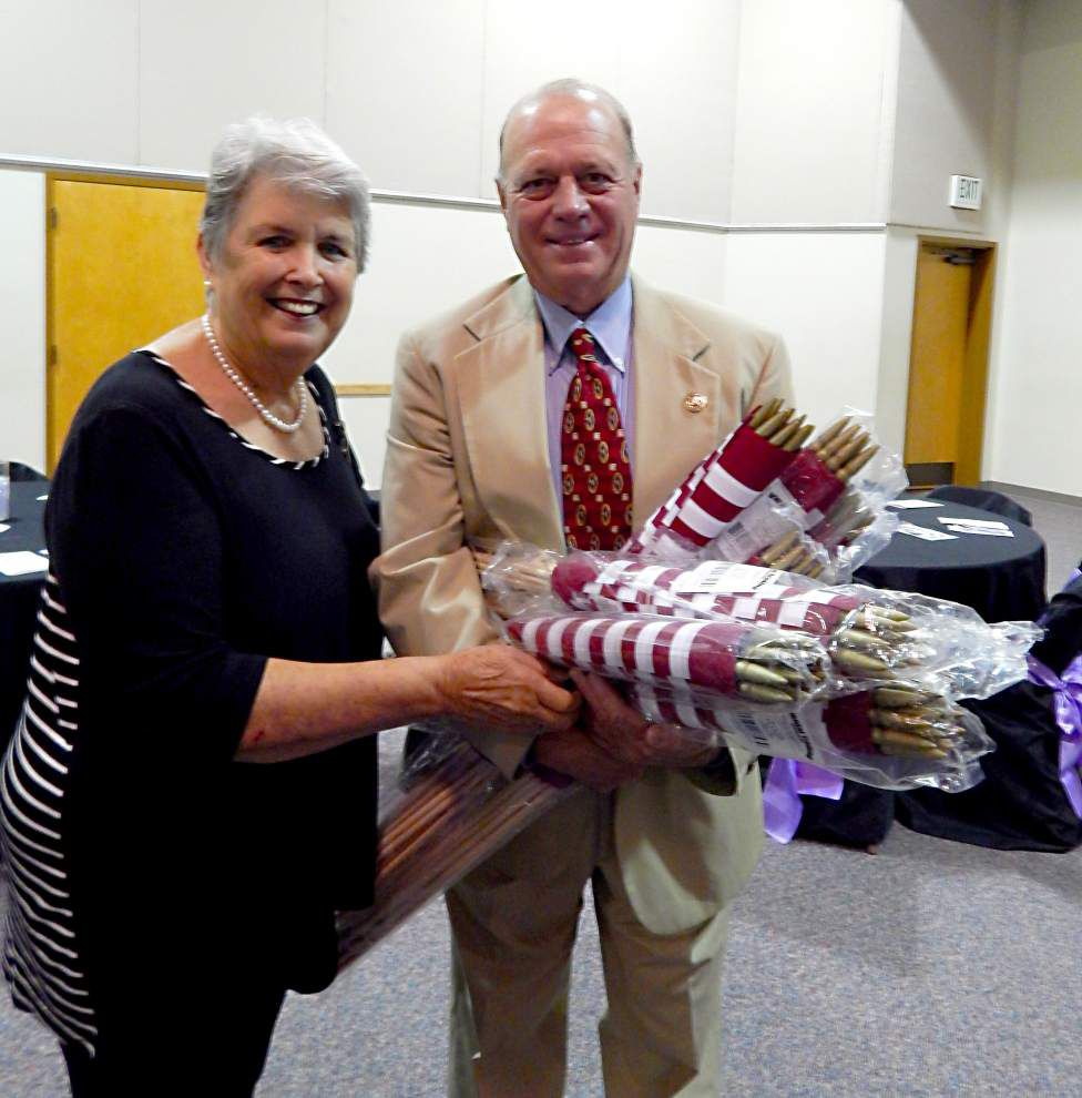 Sheriff donates 408 flags for veterans' graves in East Feliciana _lowres