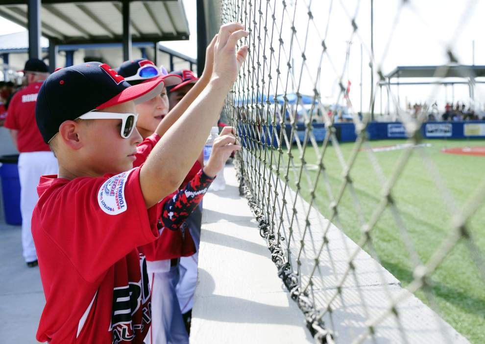 Photos: Opening ceremony for PONY Mustang baseball world series at Youngsville Sports Complex _lowres