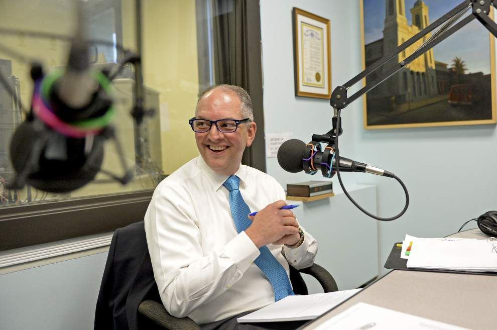 Gov. John Bel Edwards, DHH Secretary Rebekah Gee field health care questions during monthly radio show _lowres