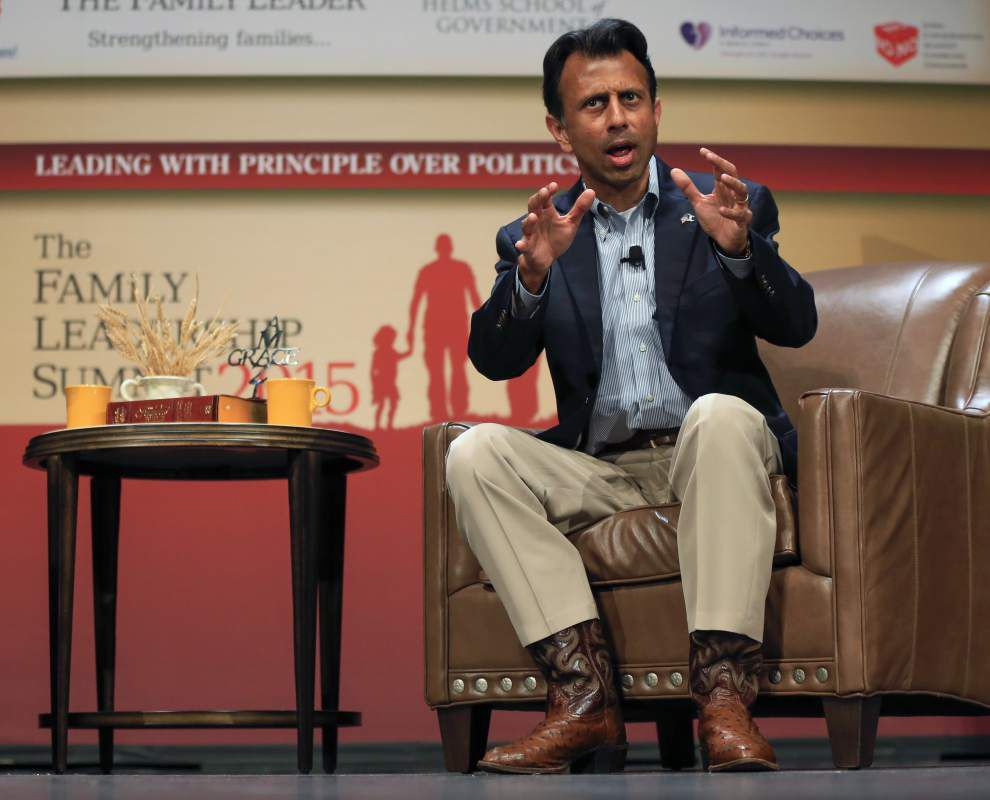 Out of office, Jindal looms over Louisiana budget crisis as state leaders point blame to him _lowres