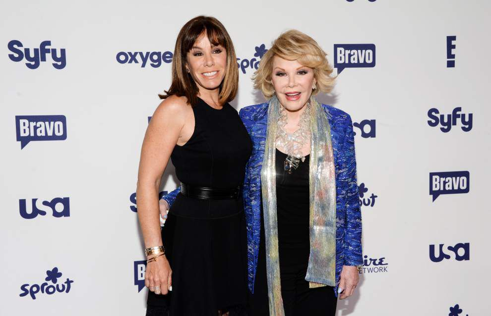 Melissa Rivers files lawsuit in mother Joan Rivers' death _lowres