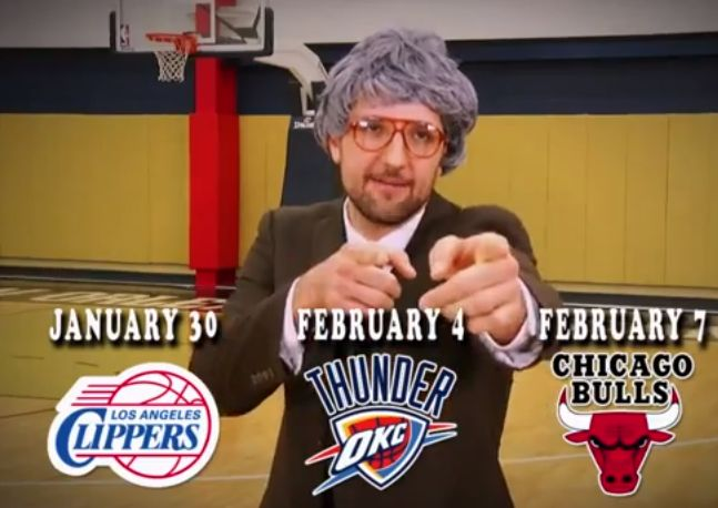 New Orleans Pelicans recreate Frankie & Johnny's commercial_lowres