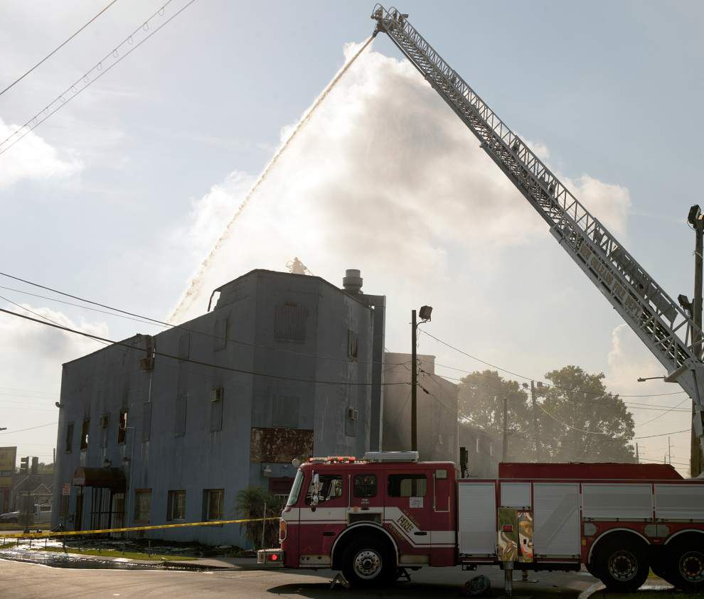 Fire destroys gay club in 7th Ward; owner says it was gathering spot for young LGBT people _lowres