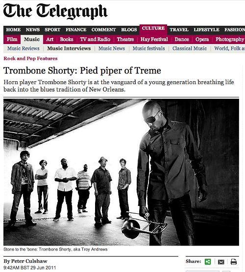 Troy 'Trombone Shorty' Andrews at BluesFest London_lowres