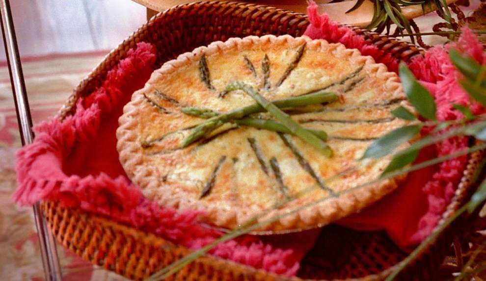 Eat Your Vegetables: For lunch or light dinner, start with quiche _lowres