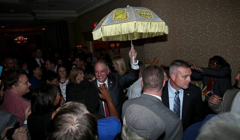 Plenty of cash spending, mud slinging gives way to Gov.-elect John Bel Edwards' historic win over David Vitter _lowres
