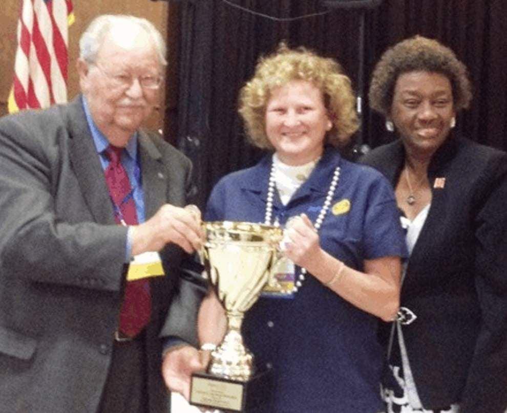 Baker, Zachary Rotarians awarded _lowres