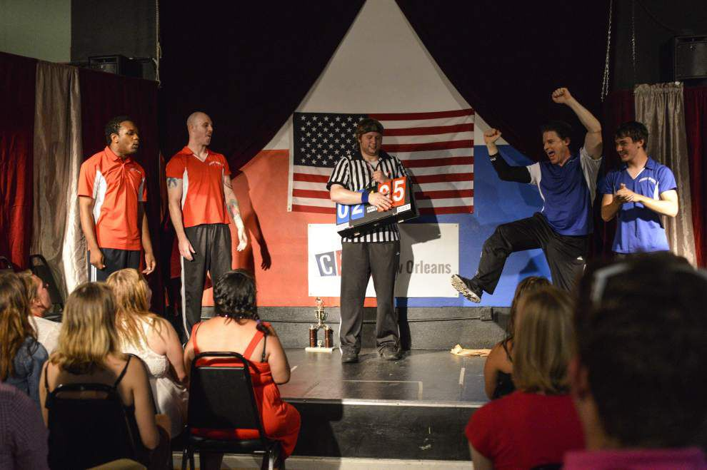 Comics think on their feet at improv shows around town _lowres