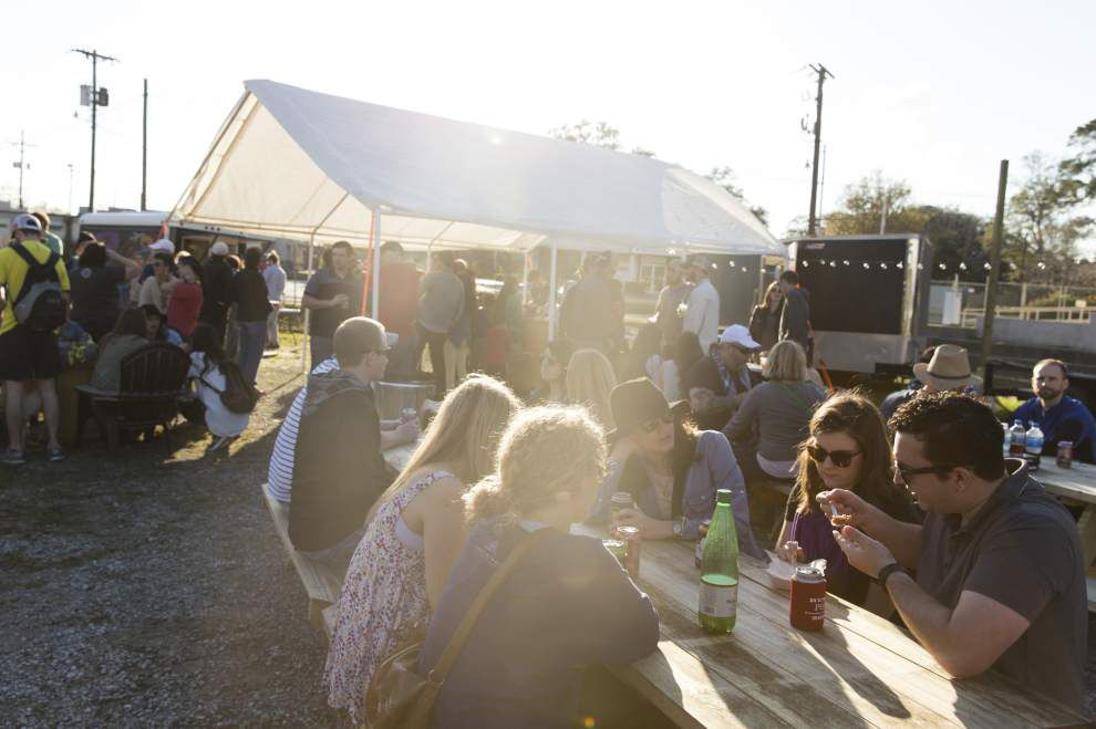 Lafayette's one-of-a-kind beer garden, pop-up restaurant becoming a popular attraction _lowres