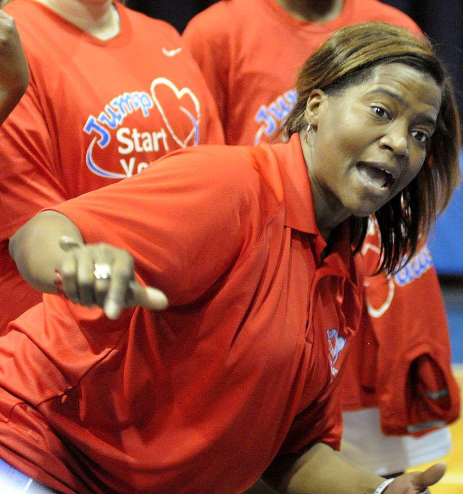 Parkview Baptist coach Christina Anderson has unfinished business before completing doctorate _lowres