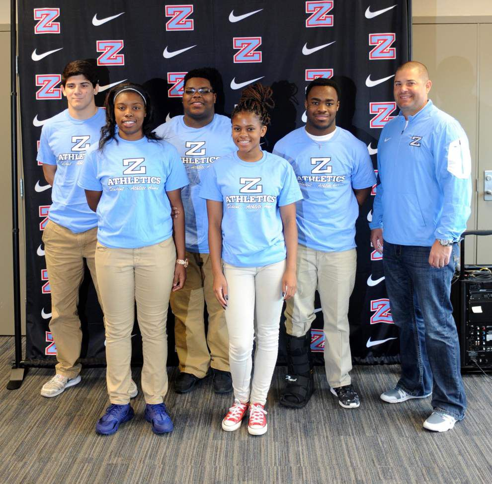 Zachary High athletes acknowledged _lowres