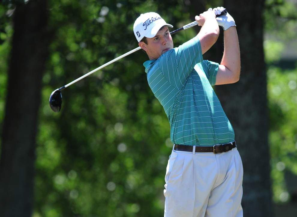 Carter Toms leads Byrd to Division I golf title; Newman's Price Butcher ties for second in Division III _lowres