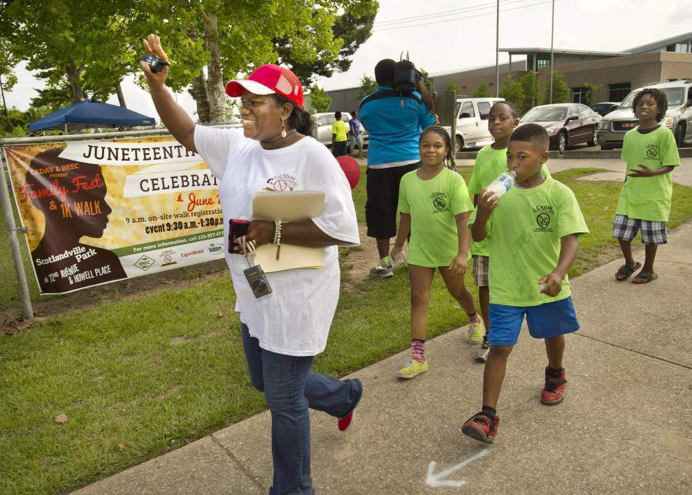 'Juneteenth' significance explored at BR family day, party _lowres