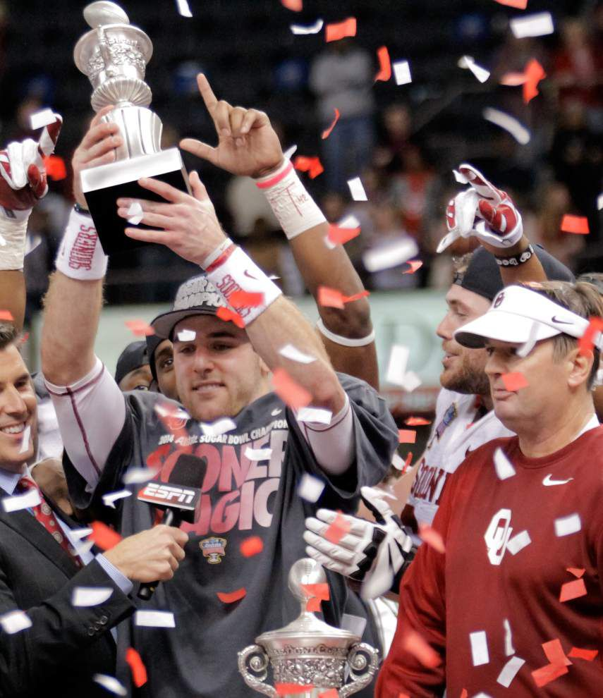 Oklahoma upsets Alabama 45-31 to win the Sugar Bowl _lowres