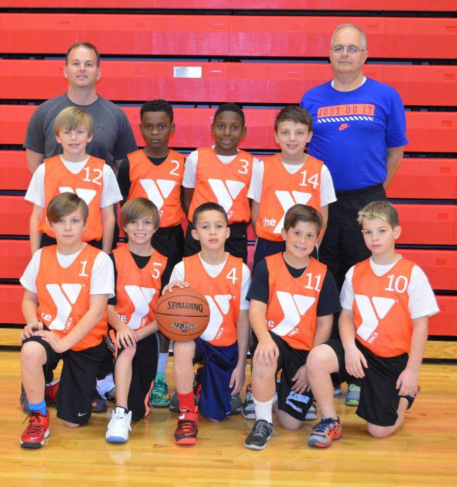 Thunder takes YMCA league, tournament titles _lowres