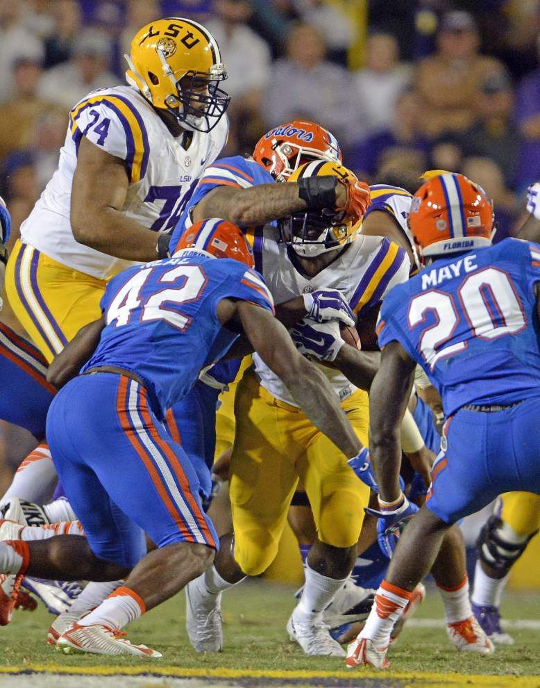 Rabalais: Some late hits, extracurricular punishment on LSU running back Leonard Fournette have gone too far _lowres