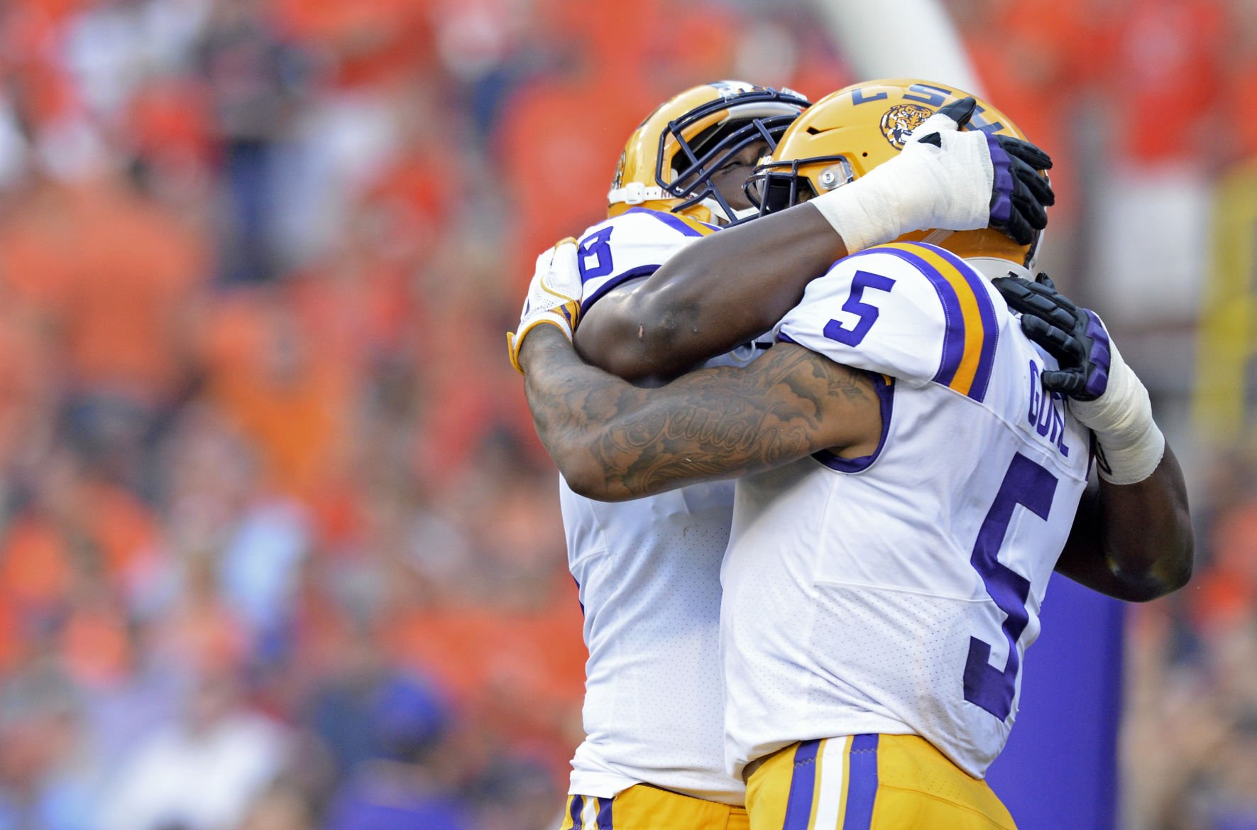 LSU unranked in both Coaches and AP polls following loss to Troy
