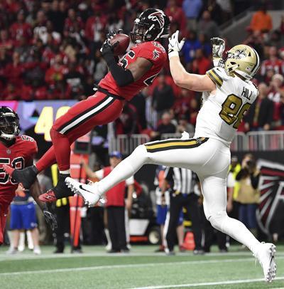 APTOPIX Saints Falcons Football