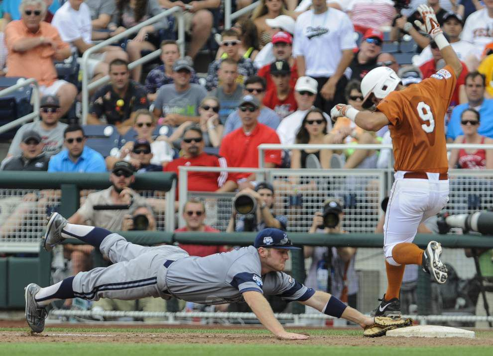 CWS: Texas in survival mode after 3-1 loss to Irvine _lowres