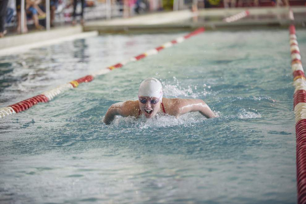 Brusly's Nick Lee double winner as Panthers take first at Capital City Swim League meet. _lowres