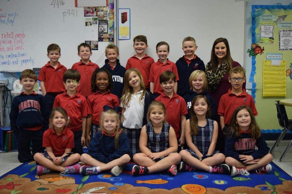 Classroom Spotlight: Parkview Baptist School first grade _lowres