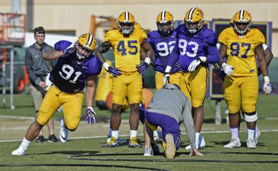 Lsu Preseason Camp 2018 Breaking Down The Depth Chart