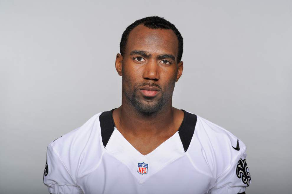 Former Saints safety Jenkins loses bet, owes wife a new car _lowres