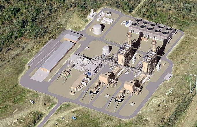 St Charles Power Station