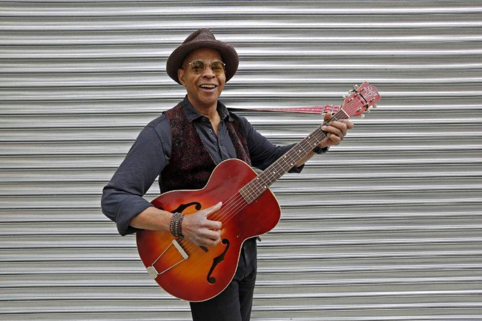 From Belafonte to the blues: Guy Davis' uncommon life _lowres