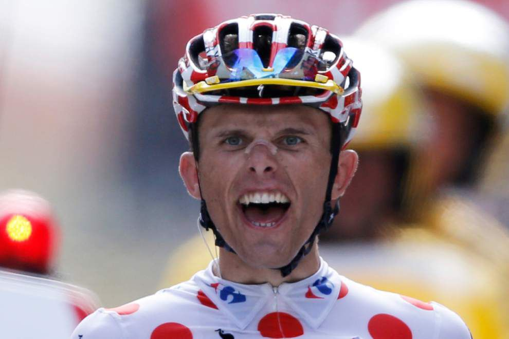 Rafal Majka wins stage; Vincenzo Nibali marches on at Tour de France _lowres