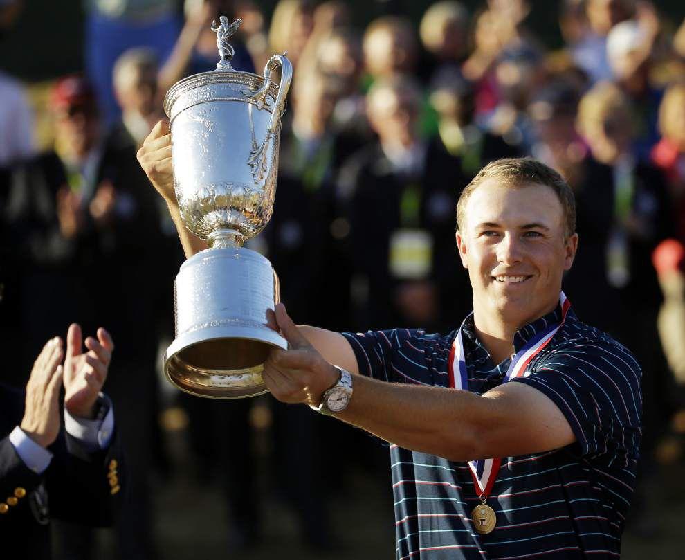 Jordan Spieth wins U.S. Open after Dustin Johnson's three-putt on the final hole _lowres