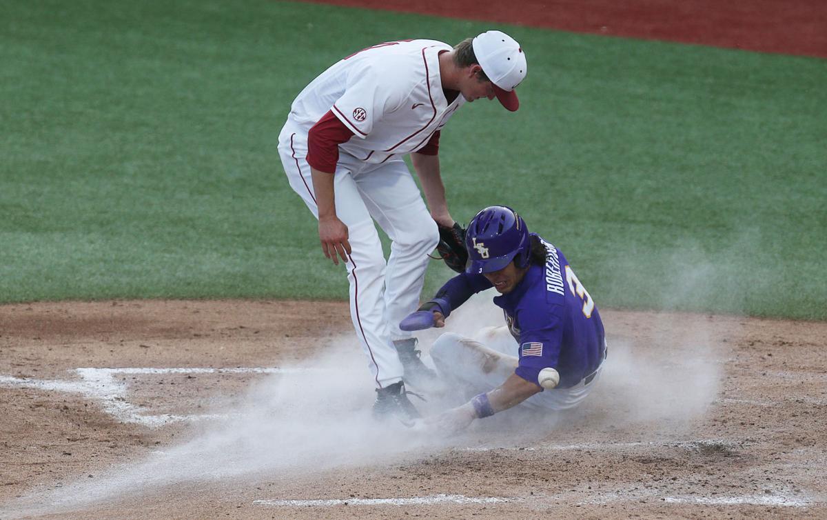 LSU at Alabama Baseball