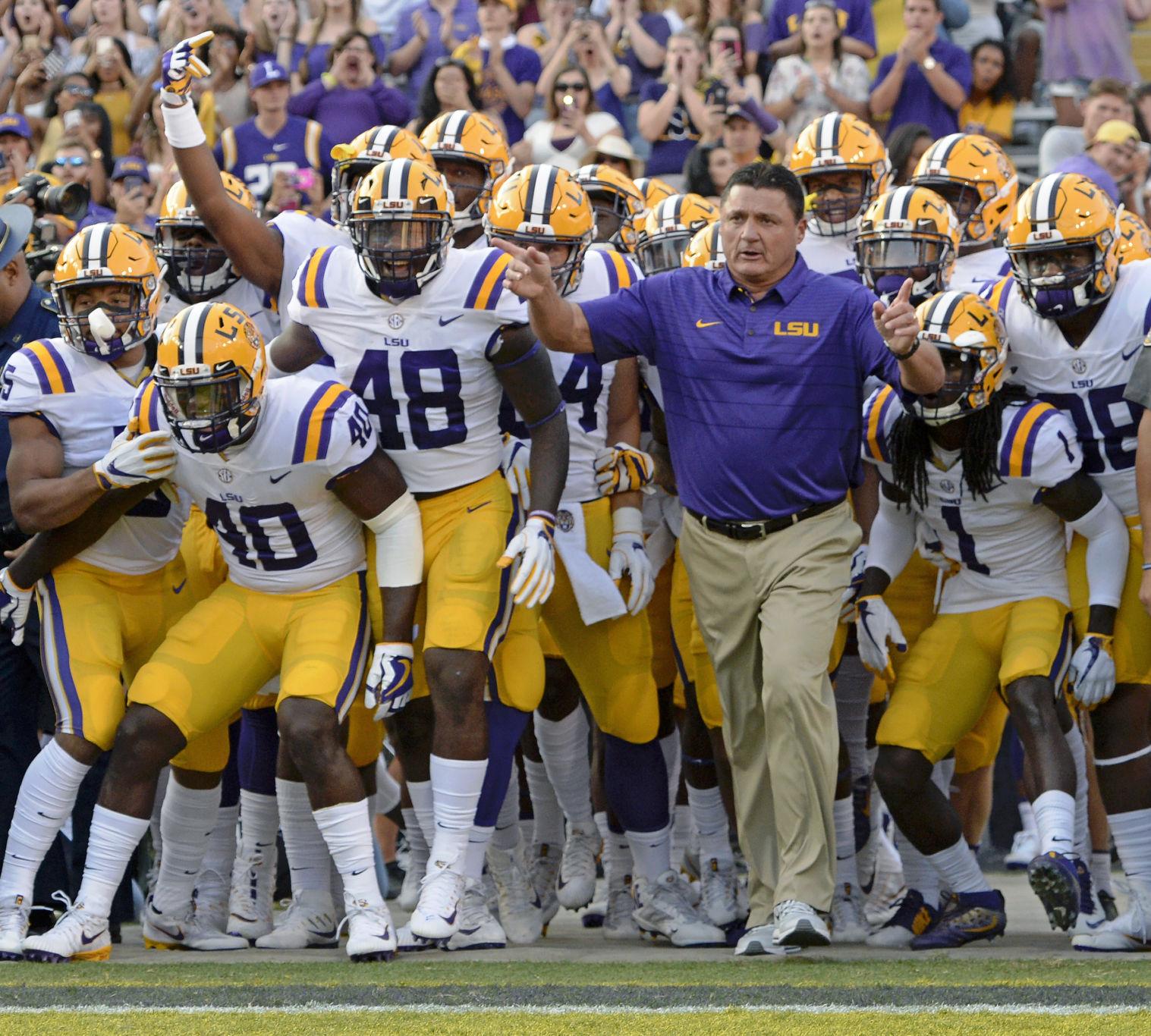 Louisiana State vs Mississippi State, 09/16/17