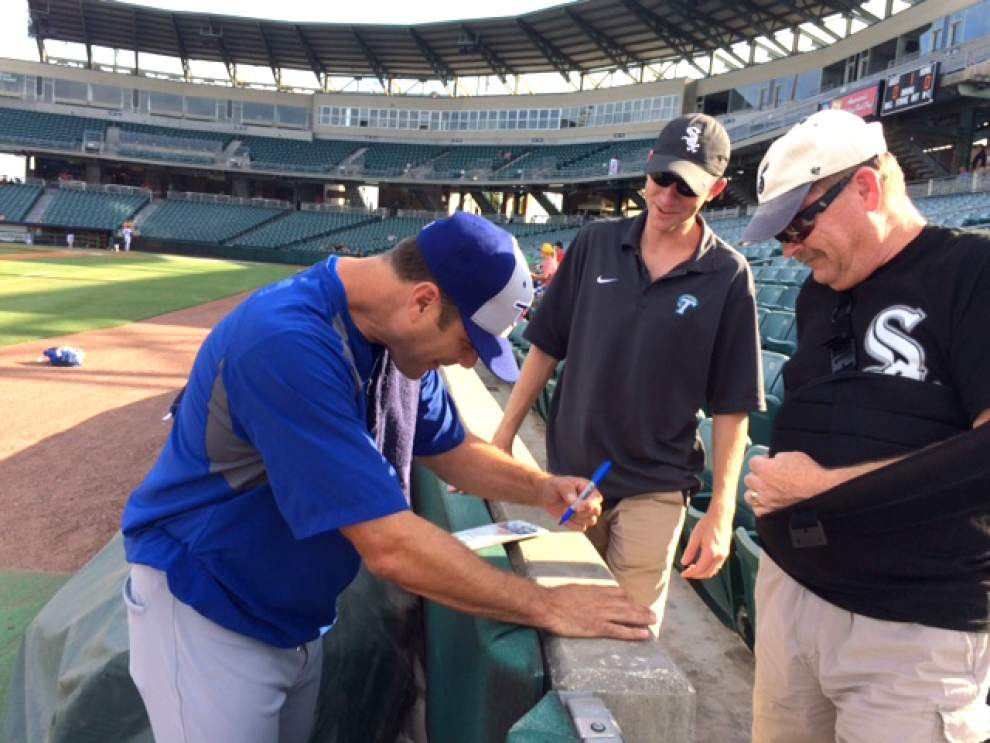 Around Jefferson: Metairie baseball fan gets long-desired autograph _lowres