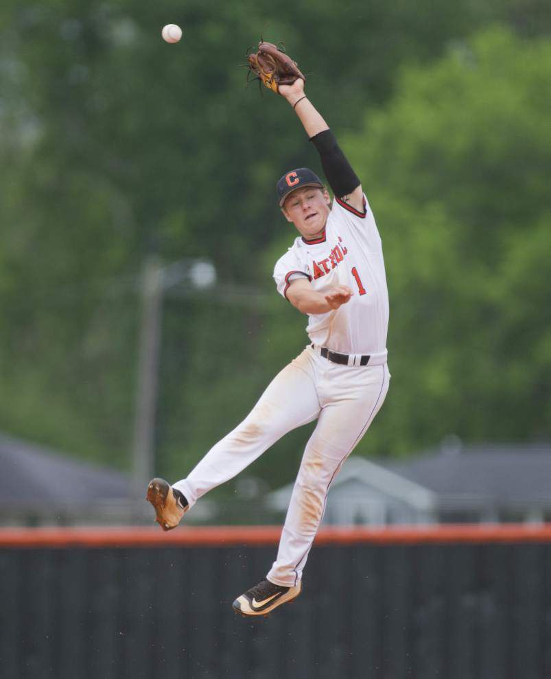Catholic overcomes 3-0 deficit to St. Amant after five innings, then wins game in eighth _lowres