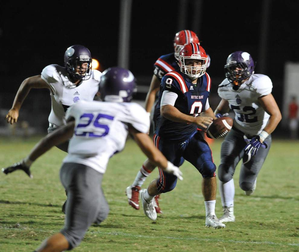 Photos: St. Thomas More no match for Catholic, Notre Dame run strong against Opelousas _lowres