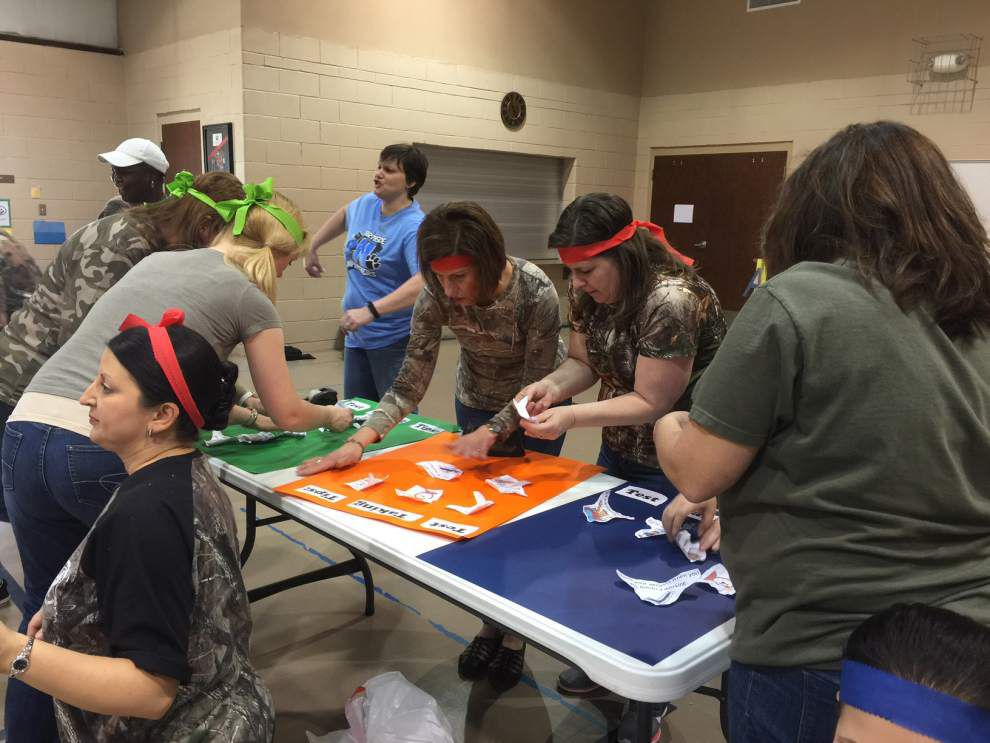 Northside Elementary goes wild with Testing Pep Rally _lowres