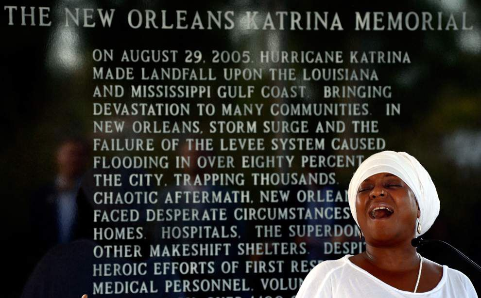 A solemn remembrance: Nine years after Hurricane Katrina slammed the coast _lowres