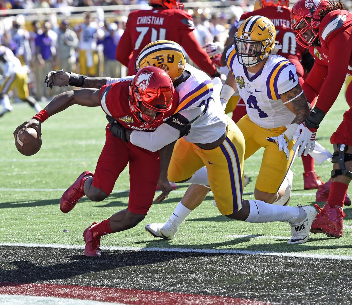 san francisco 94941 5c967 Heisman winner Lamar Jackson falls flat against LSU in ...