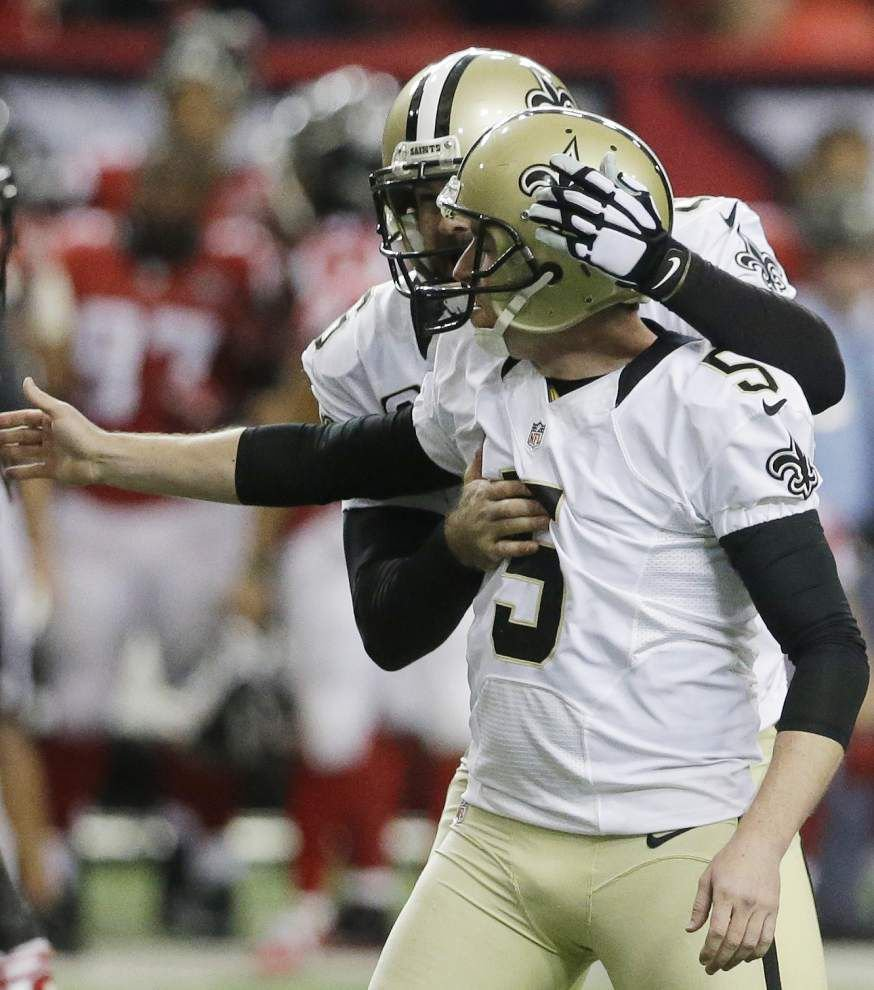 As speculation about Sean Payton's future swirls, Saints edge Falcons 20-17 on last-play field goal in season finale _lowres