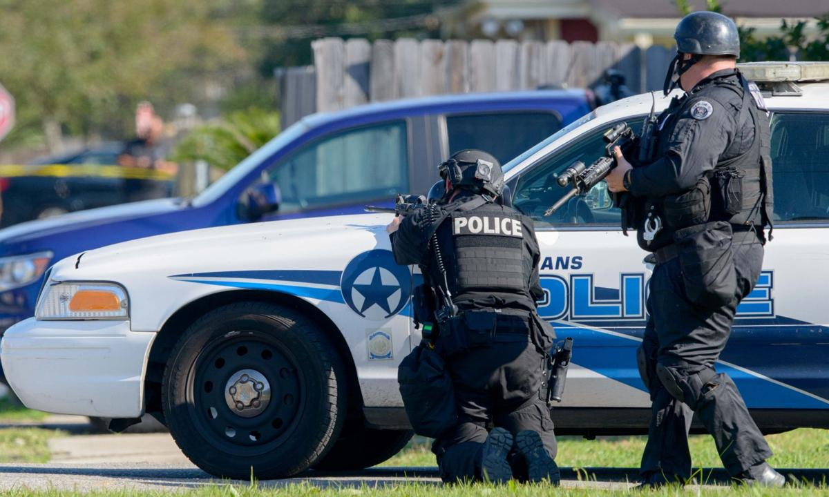 Swat responds to man barricaded in gentilly home with for Police orleans