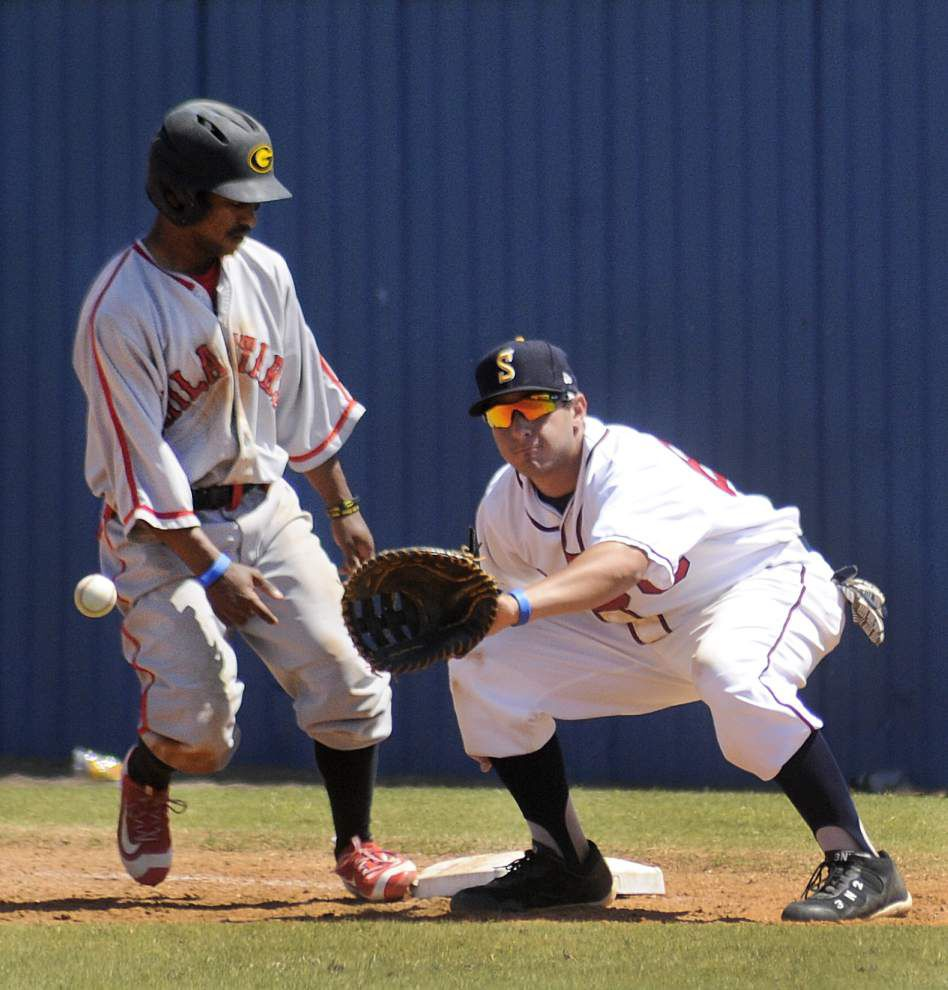 Southern's Dondrayas Harris hits for cycle in loss to Grambling _lowres