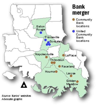 Banks based in Raceland, Gonzales merging _lowres