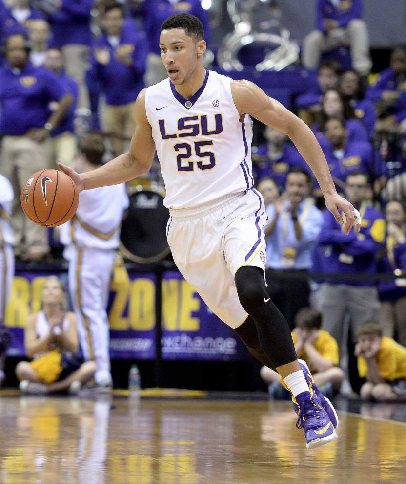 LSU's Ben Simmons named USA Today's freshman of the year for 'consistently dazzling' play _lowres