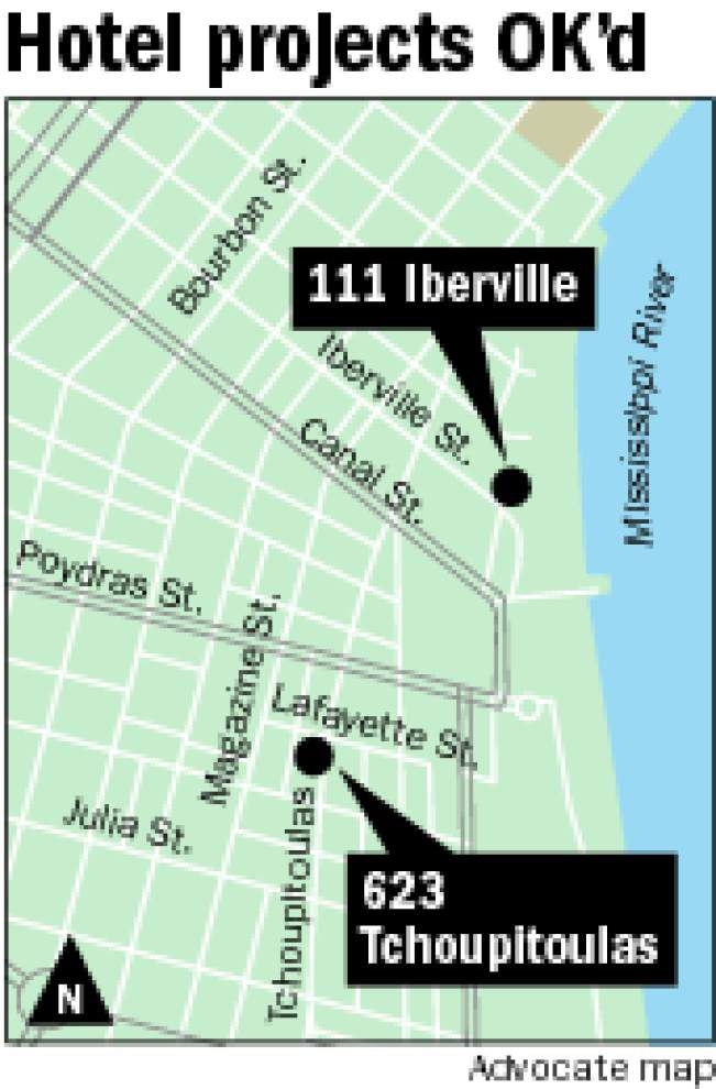 Council approves new hotels in French Quarter, Warehouse District _lowres