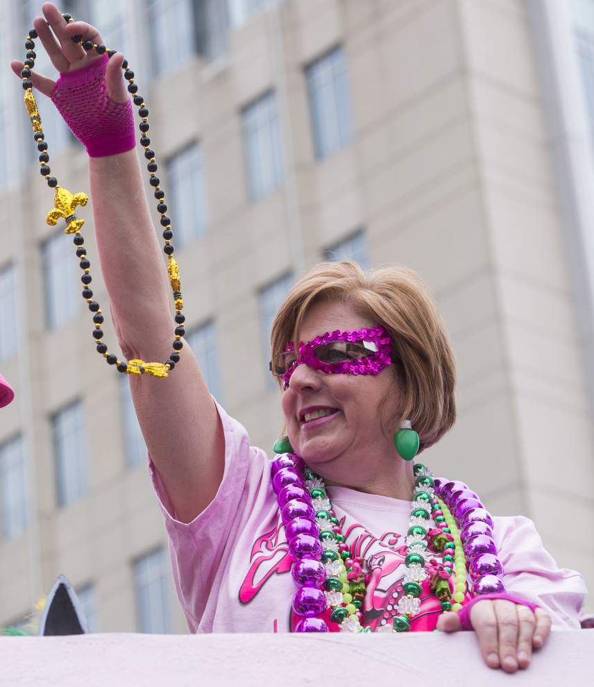 Photos: Let the good times and the pink floats roll for Baton Rouge's Spanish town parade _lowres