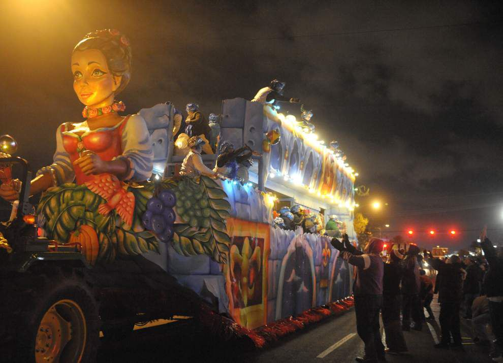Two Jefferson krewes face loss of parade permits _lowres