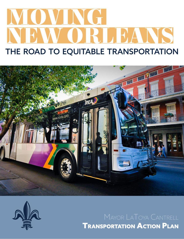 Mayor LaToya Cantrell's transportation strategy