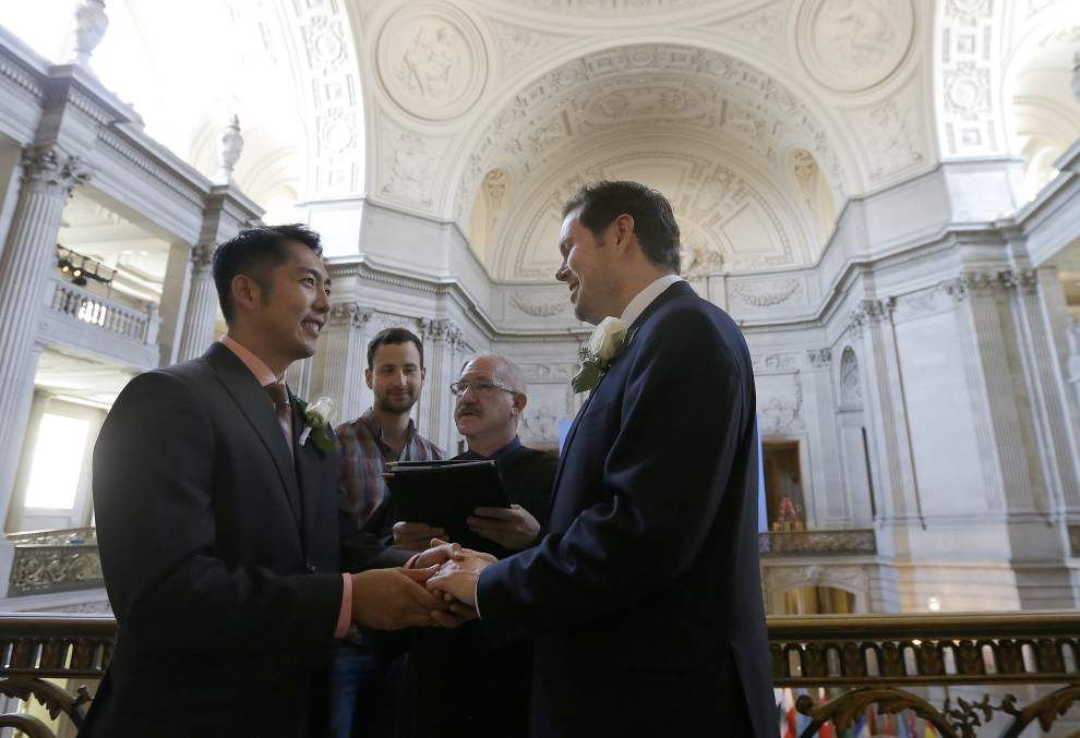Gay marriage expected to boost wedding-related businesses _lowres